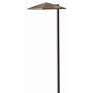 Hinkley Lighting 1561AR-LED Path Light, LED, 1 Light, 2.3W, 12V, Anchor Bronze