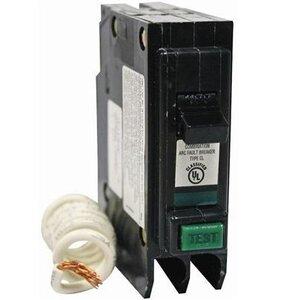Eaton CL115CAF Breaker, 15A, 1P, 120/240V, 10 kAIC, Combination Arc Fault
