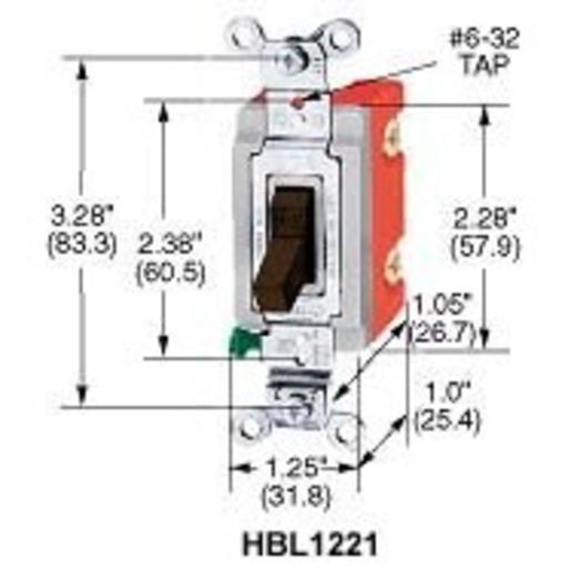 Hubbell-Wiring Kellems HBL1223W   Hubbell-Wiring Kellems ... on leviton 3 way switch, pass & seymour 3 way switch, bridgeport 3 way switch, eagle 3 way switch, lutron 3 way switch, changing 3-way light switch, cooper 3 way switch, legrand 3 way switch,