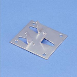 nVent Erico LPA535 PLATE,AL,STAMPED,CURVED  METAL,BONDING