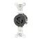 4560 EB REC LOCK SGL 2P/3W L6-15 15A250V