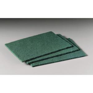 "3M 96 Scotch-Brite General Purpose Scouring Pad, 6""x9"", Green"