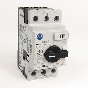 Allen-Bradley 140M-C2E-B40 Breaker, Motor Protection, 4.0A, C Frame, 3P, DIN Rail Mount