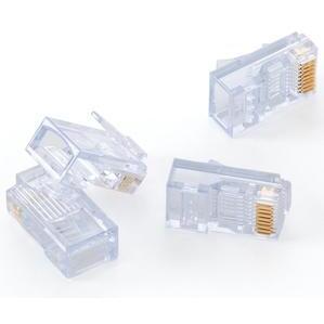 Leviton 47613-EZC Modular Plug, EZ-RJ45 Cat 5e, 24AWG