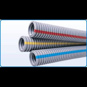 "Kraloy 12002 Gray ENT w/ Blue Stripe, 1/2"", 1500' Reel"