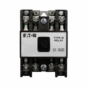 Eaton D26MR30A Relay, Machine Tool, D26, 3P, 3NO/0NC, 120VAC Coil, 600VAC Rated