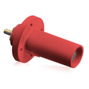 17R21-R RED 90D MALE PNL RECPT THR D