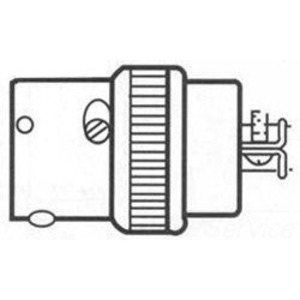 Russellstoll 8724/F24778 Clamp Type Female Connector, Customer Special