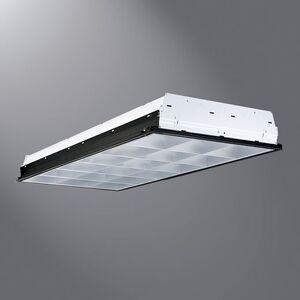 All-Pro Lighting APP-332-L735 Parabolic Fixture, 2 x 4, 3-Lamp, T8, 32W