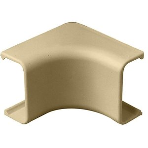 Wiremold 2917 Internal Elbow, 2900 Series Raceway, Non-Metallic, Ivory