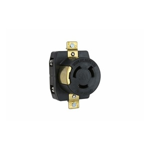 Pass & Seymour 3771 Locking Receptacle, Non-Nema, 50A, 250V, 2PW