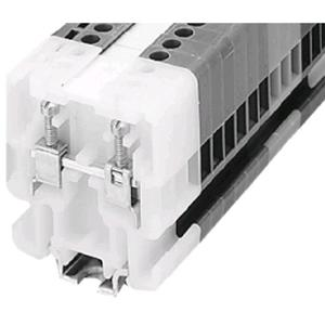 Allen-Bradley 1492-H1 Terminal Block, 30A, 600V AC/DC, White, Finger Safe