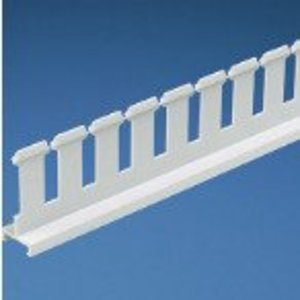 Panduit SD4HWH6 Slotted Divider Wall, PVC, White