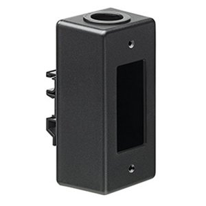 Leviton 41089-DN DIN Rail-Mount Box, Black