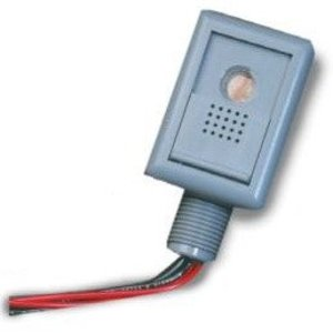 Wattstopper EM24-D2 Low Voltage Photocell, 24 VDC, 1 VA, 1-15 Footcandle Range