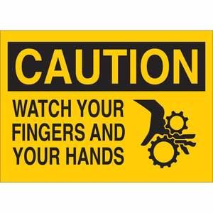 25907 MACHINE & OPERATIONAL SIGN