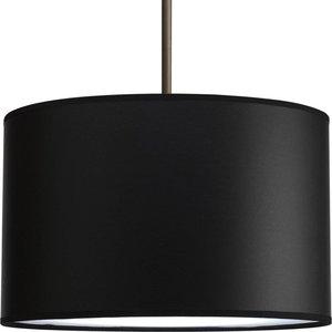 "Progress Lighting P8822-01 16"" drum shade modular pendant system"