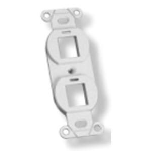 Tyco Electronics 1116618-3 Mounting Strap Kit, 2-Port, White