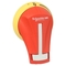 GS2AH120 HANDLE RED/YELLOW NEMA 1-3R