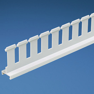 "Panduit SD3HWH6 Slotted Divider Wall, Panduct, 3"" x 6', White"
