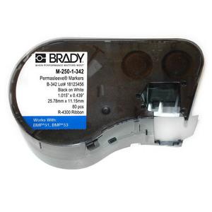 "Brady M-250-1-342 0.439"" x 1.015"" Label Maker Cartridge"