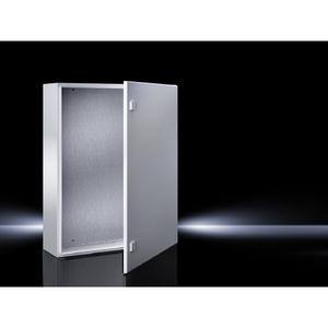 "Rittal 1360500 Compact Enclosure, Single Door, NEMA 4, 24 x 24 x 14"""