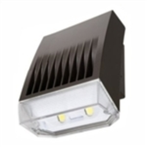 Lumark XTOR8BRL LED Wallpack, 81W, 5000K, 120-277V, Carbon Bronze, Refrac Lens