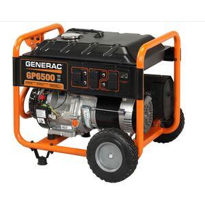 Generac 5946 6.5KW Portable Generator - Carb Compliant