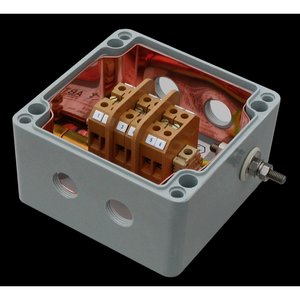 Abtech BPG-06 Enclosure, Screw Cover, 122 x 120 x 90mm, Polyester