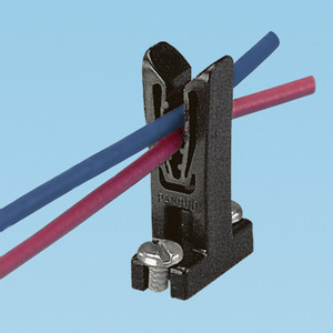 Panduit WEH-E8-C Wire End Holder, #28-#16 AWG, #8 Screw (
