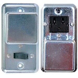 Eaton/Bussmann Series BP/SSU Plug Fuse, Cover Unit, Fusetron, Single Gang, 15A, 125VAC