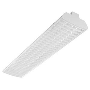 Lithonia Lighting TMS5HB254T5HOSBL27722AP High Bay Fixture, Tandem, 8', 2-Lamp, T5HO, 54W, 277V