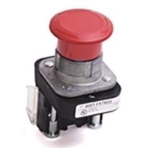 Allen-Bradley 800TC-TFXTQH2RD4S Push Button, E-Stop, 30mm, Red Mushroom, Twist to Release, 1NCLB