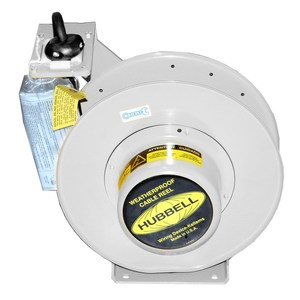 Hubbell-Wiring Kellems HBL501032WM1 W/PROOF REEL, 50', 10/3 SO CORD, WH