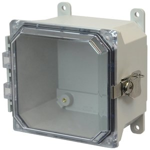 Allied Moulded AMU664CCT Wall mount enclosure assembly