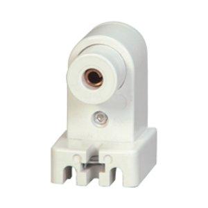 Eaton Wiring Devices 2504W-BOX Lampholder FL Slimline Scr Plunger WH