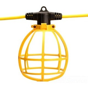 Coleman Cable 7145SW String Light, 100', 150W, 120V, Yellow