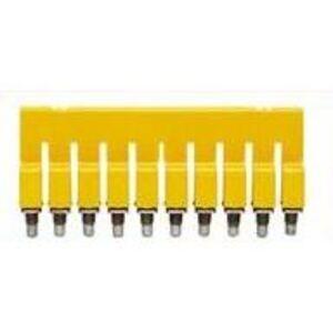 Weidmuller 1054460000 Terminal Block, Cross Connector, 10P, W-Series, Yellow