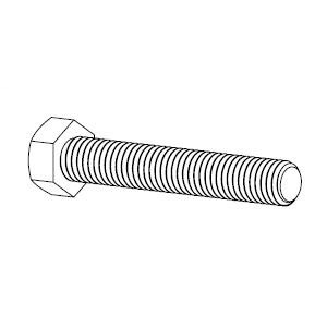 "Panduit SBBOLT3875-C 3/8""-16 UNC X 3/4""LG. HEX BOLT Full Thre"