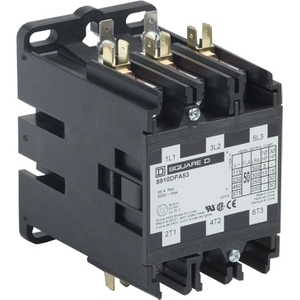 Square D 8910DPA53V09Y244 CONTACTOR 600VAC 50AMP DPA +OPTIONS