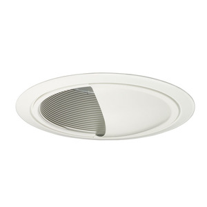 "Juno Lighting 262G3-WWH Wall Wash Trim, LED, GEN3, Scoop, 6"", White Baffle/White Trim"