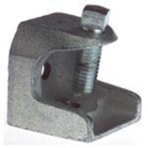 "Thomas & Betts 503-SC Beam Clamp, Rod Size: 1/2-13, Flange: 1"", Malleable Iron"