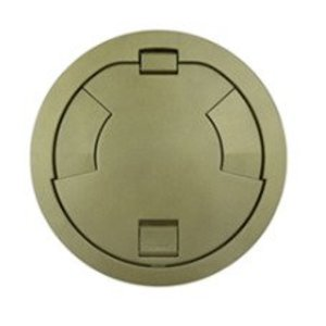 "Wiremold 8CT2BZ Flush Style Cover Assembly, Diameter: 8"", Bronze"