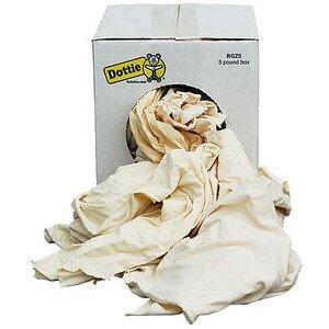 Dottie RGZ5 Five Pound Bag of Rags (New White Knit)