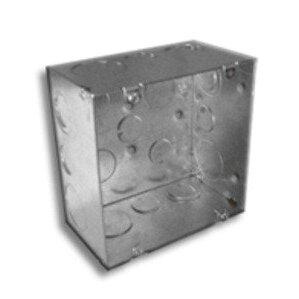 """RANDL Industries R-55016 Fire Signal Box, 5"""" Square x 2.875"""" Deep"""