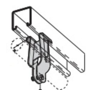 Eaton B-Line B2073-HDG BLN B2073-HDG PARALLEL PIPE CLAMP