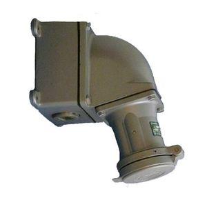 "Appleton ACP15034CDRS Pin & Sleeve Plug, 150A, 600V, 4P3W, 1-1/2"" Hub, Style 2, Reverse"