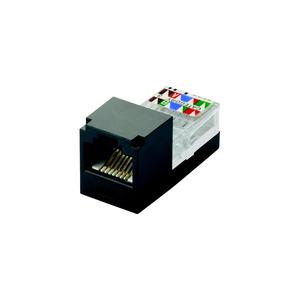 Panduit CJ88BLY Mini-Com Mini-Jack Module, Cat 3, UTP, 8
