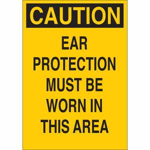 25456 EAR PROTECTION SIGN