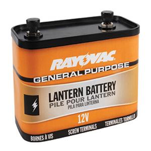 Rayovac 926 Lantern Battery, General Purpose, 12 Volt, Screw Terminals